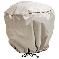 WeatherGuard 8995 Turbine Ventilator Cover, Polyester, Gray