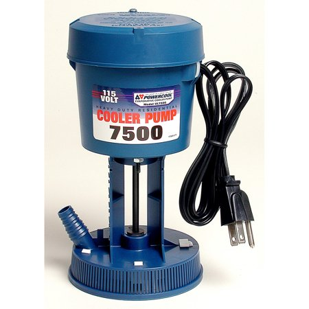 Dial 1175 Premium Concentric Cooler Pump, 7500 cfm, 360 gph, 115 V