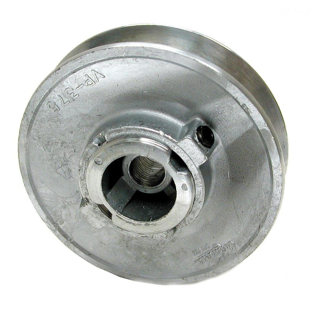 Dial 6149 Variable Motor Pulley, 3-3/4 in Dia X 1/2 in Bore