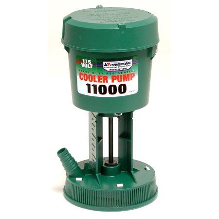 Dial 1195 Premium Concentric Cooler Pump, 11000 cfm, 420 gph, 115 V