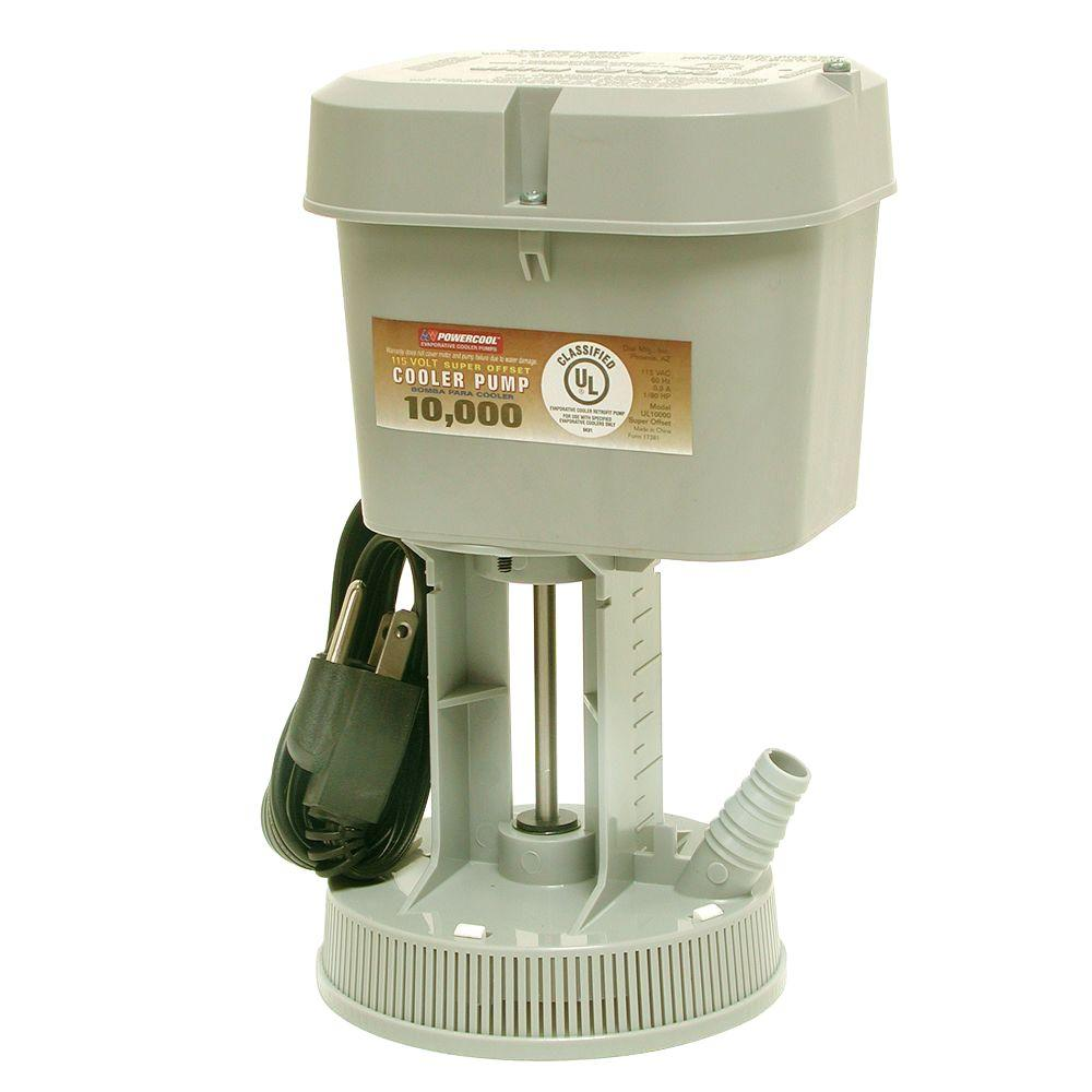 Dial 1095 Super Offset Pump, 10000 cfm, 290 gph, 115 V