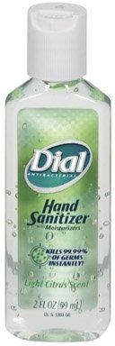 Dial Hand Sanitizer - 2 oz., Citrus, 24/cs, Citrus,