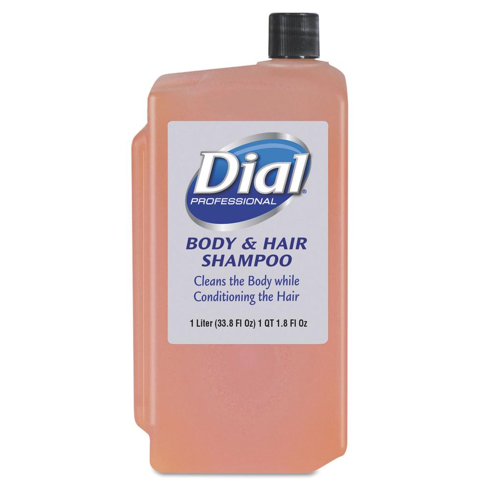 Body & Hair Care, Peach, 1 L Refill Cartridge, 8/Carton