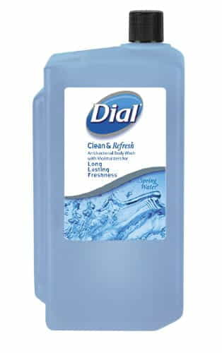 Antibacterial Body Wash, Spring Water, 1 L Refill Cartridge