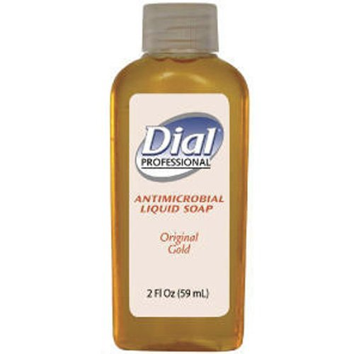 Gold Antimicrobial Liquid Hand Soap, Floral Fragrance, 2oz Bottle