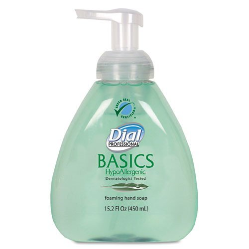 Dial Basics Foaming Lotion Soap with Aloe, Table Top Pump Bottles