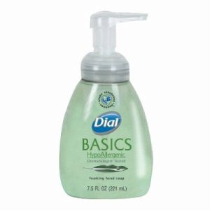 Dial Basics HypoAllergenic Foaming Lotion Soap