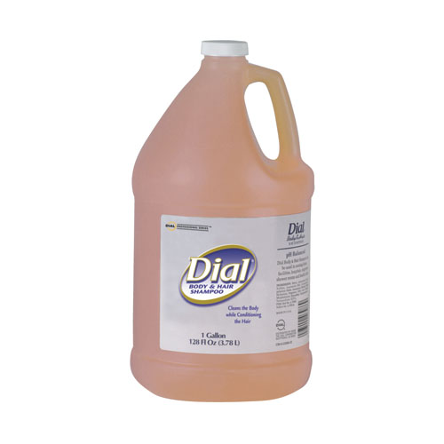 Body and Hair Care, 1gal Bottle, Gender-Neutral Peach Scent