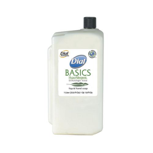 Dial Basics HypoAllergenic Liquid Hand Soap Refills, 8 Refills