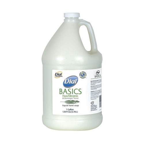 Dial Basics Hypoallergenic Liquid Soap - Gal., 4/cs,