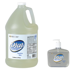 Antimicrobial Soap for Sensitive Skin, Floral, 1gal Bottle