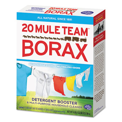 20 Mule Team Borax Laundry Booster, Powder, 4 lb Box
