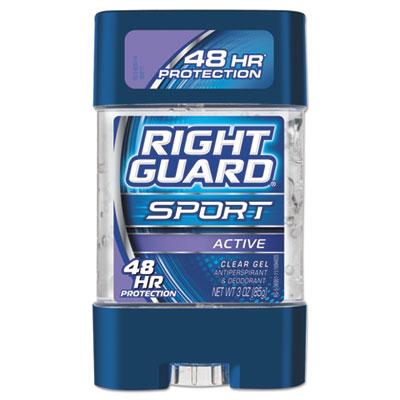 Sport Gel Deodorant, Active Scent, 3 oz Tube, 12/Carton