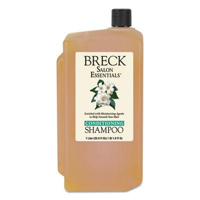 Shampoo/Conditioner, Pleasant Scent, 1 L Bottle, 8/Carton