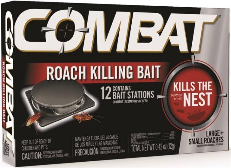 BAIT ROACH SMALL/LARGE 12CT