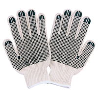 Diamondback FO809PVD2  Gloves, Cotton Knit, White, Natural