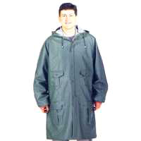 Diamondback 8156GRBXL Heavy Duty Rain Parka, X-Large, PVC, Blue