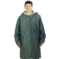 PARKA RAIN GREEN/BLUE MEDIUM