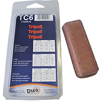 Dico RedLion Buffing Compound, Small Clamshell Brown