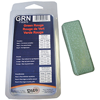 Dico RedLion Buffing Compound, Small Clamshell Green Rouge