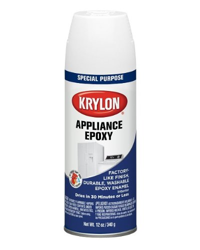 Krylon Appliance Epoxy Ultra Hard Finish, White