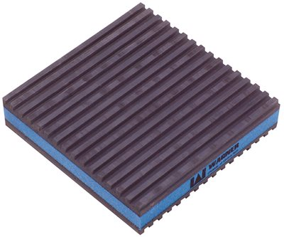 EVA ANTI VIBRATION PAD, 2 IN. X 2 IN. X 7/8 IN.