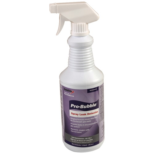 PRO-BUBBLE LEAK DETECTOR WITH SPRAY TOP, 32 OZ.