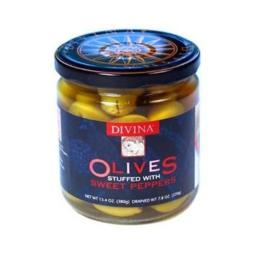 Olives Stuffed With Sweet Peppers ( 6 - 7.8 OZ )