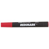 Redimark 95001 Non-Toxic Marking Pen, Red, Chisel