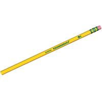 Ticonderoga 13882 Pencil With Eraser, NO 2, Woodcase