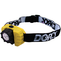 Dorcy 412099 3 LED Headlight, 70 hr