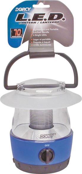 Dorcy 41-1017 Handheld Lantern, 1.5 V, Luxeon LED, 70 hr