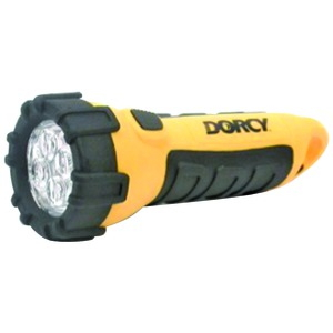 DORCY 41-2510 55-Lumen 4-LED Carabiner Waterproof Flashlight