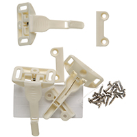 Safety 1St 48447 Spring Cabinet and Drawer Latch, Plastic