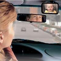 Safety 1St 48919 Deluxe Juvenile Rear View Baby Mirror 5.63 in L x 5.63 in W x 1.56 in T