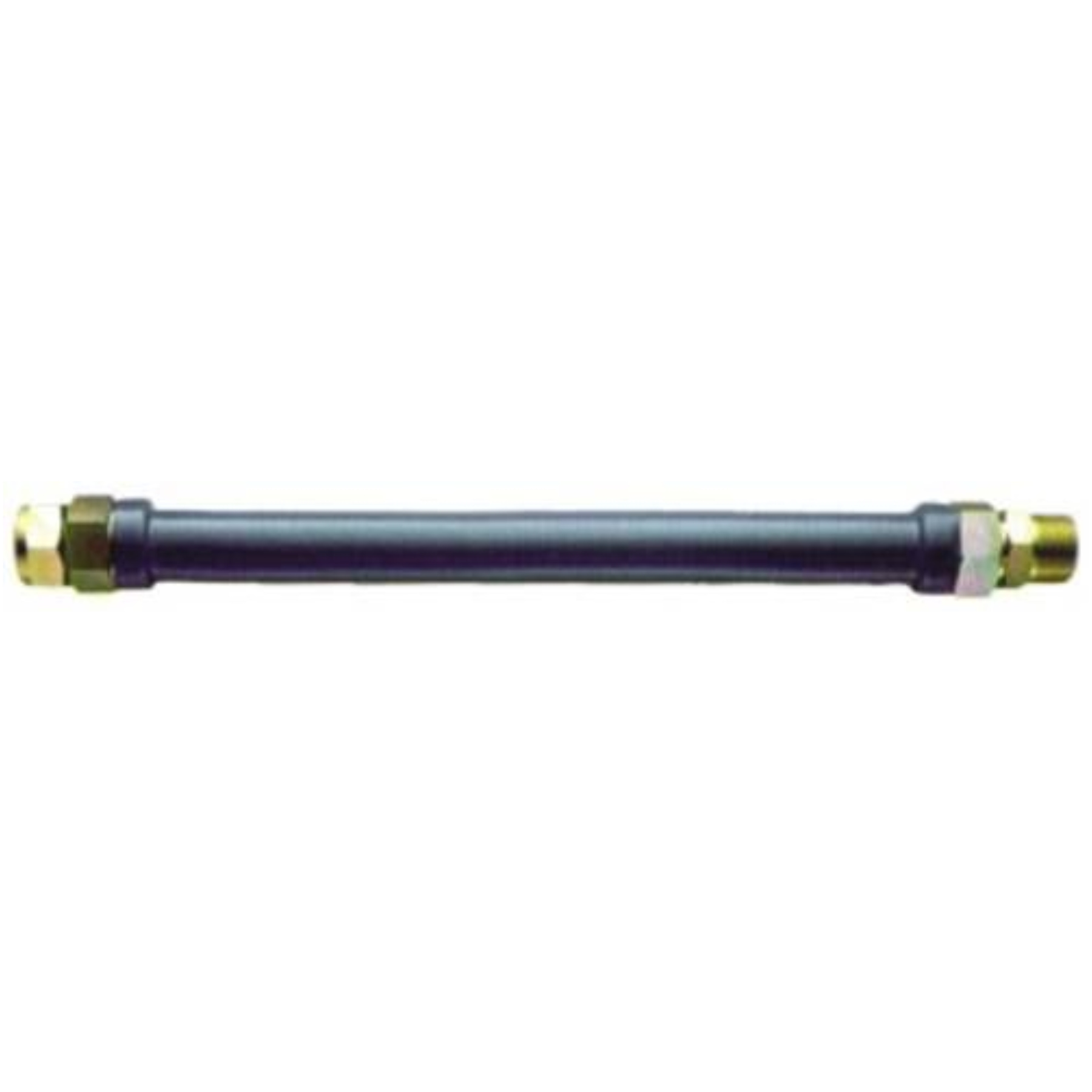 GAS CONNECTOR COATED STAINLESS STEEL 24 IN.
