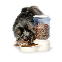 Lebistro 24764 Pet Feeder, 5 lb Capacity, Plastic Base
