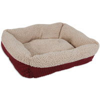 BED CAT 19IN SELFWRM RED/CREAM