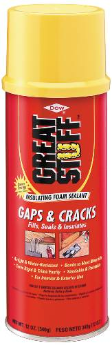 GREAT STUFF� EXPANDING SPRAY FOAM SEALANT, 12 OZ.