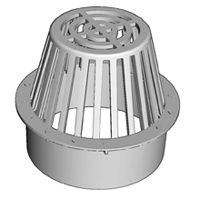 NDS 0663SDG Round Atrium Grate With UV Inhibitor, 6 in, Polyethylene, Green
