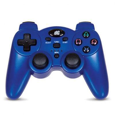 DREAMGEAR DGPS3-1391 PlayStation3 Radium Wireless Controller (Metallic Blue)