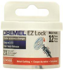 DREMEL� EZ LOCK� CUT-OFF WHEELS, 1-1/2 IN., 12 PACK