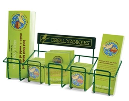Counter Display Rack W/25 Decal, 10 Pins, 15 Buttons And 25 Bookmarks