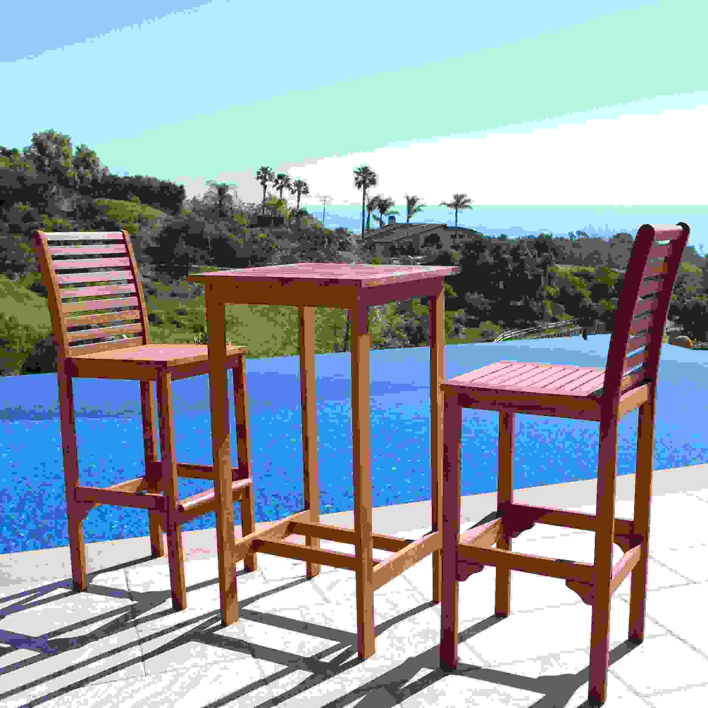 Malibu Outdoor Bar Set