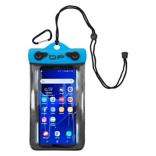 DRY PAK Cell Phone Case, 4 x 8, Electric Blu