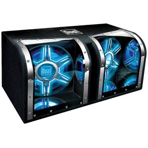 """DUAL BP1204 1,100-Watt Dual 12"""" Subwoofers Bandpass Box"""