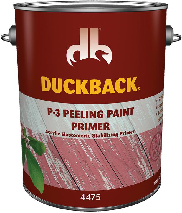 Exterior Paint Coverage Per Gallon: P-3 Peeling Paint Exterior Primer, 1 Gallon