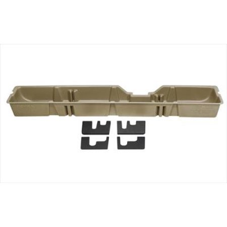 00-08 F250-F550 SUPER DUTY SUPERCAB DU-HA UNDERSEAT STORAGE / GUN CASE TAN
