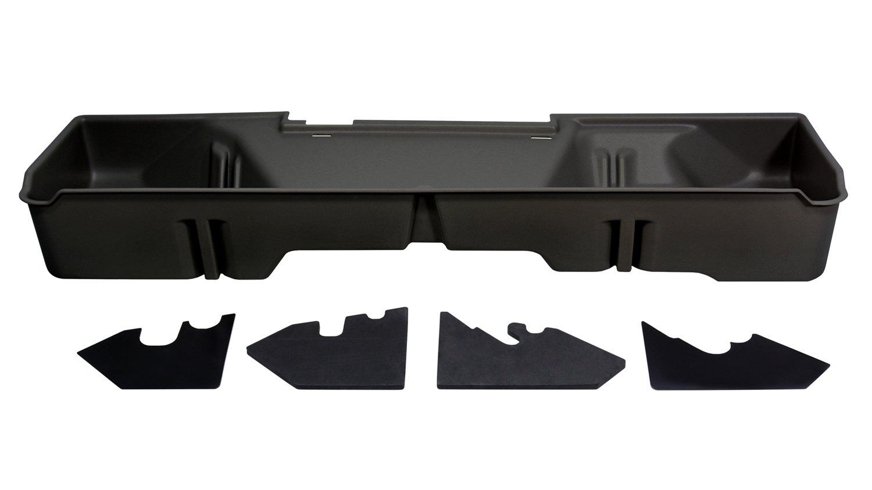 DU-HA Underseat Storage Gun Case 07-13 GMC & Chevy Ext. Cab  Dark Gray