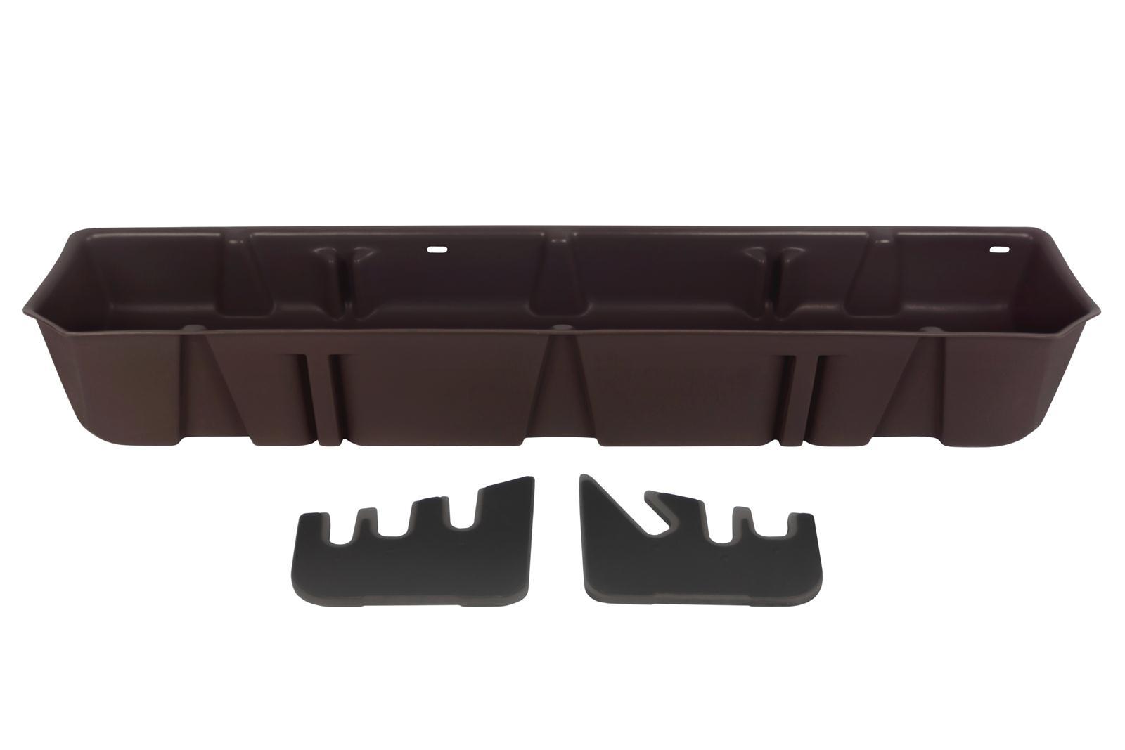 DU-HA Underseat Storage Gun Case 15-18 Ford Java Brown